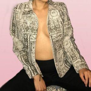 Molly&Maxx Paisley Print Jacket New With Tag